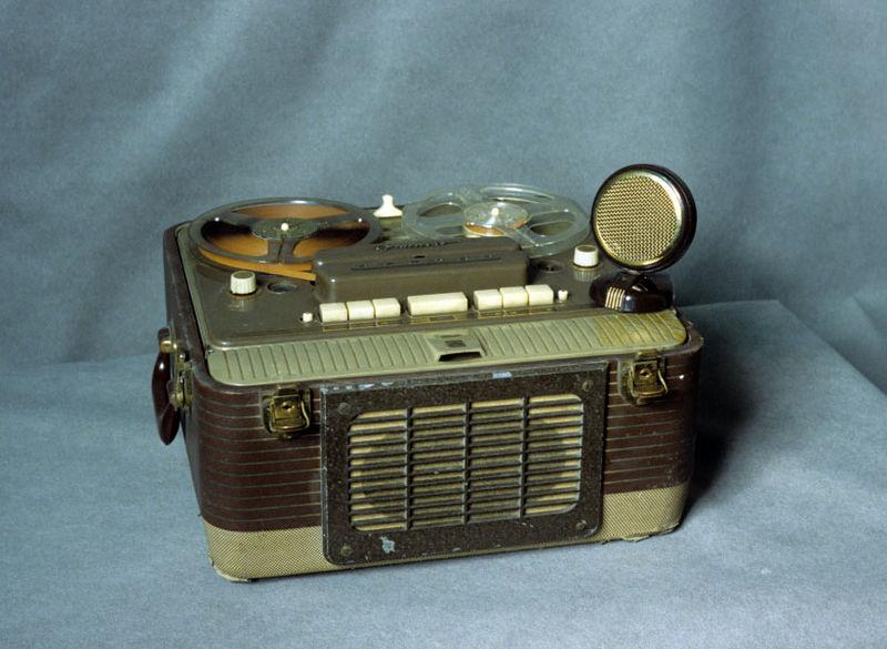 Registratore a bobine bidirezionale del1955