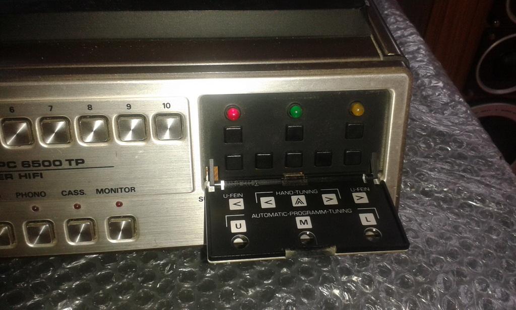 Grundig Studio XPC6500TP preselezione elettronica canali