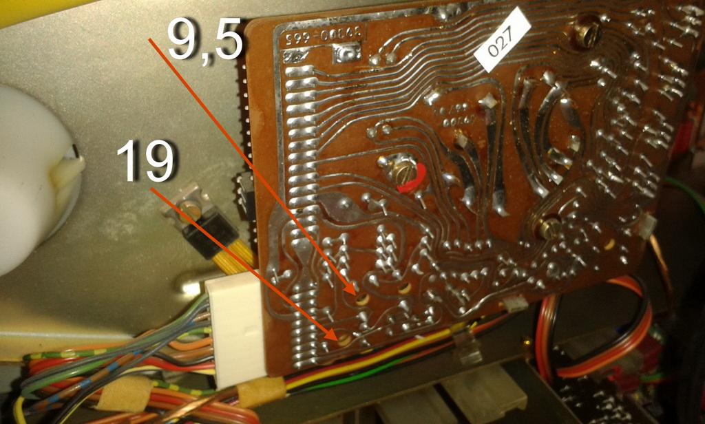 Grundig TS1000 scheda motore Capstain