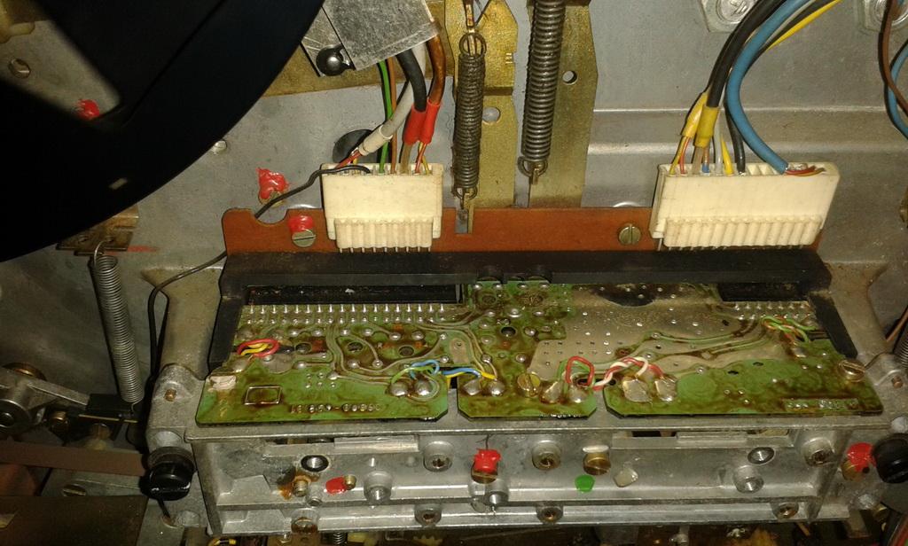 Grundig TS1000 interni testine