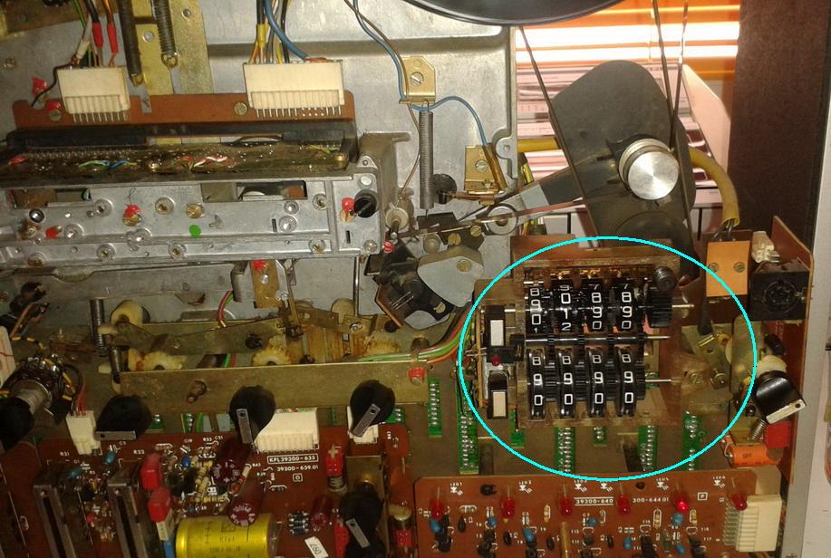 Grundig TS1000 interni