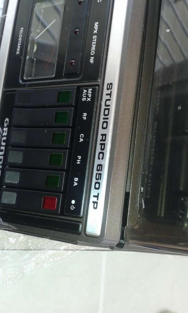 Grundig RPC 650 TP arrivo