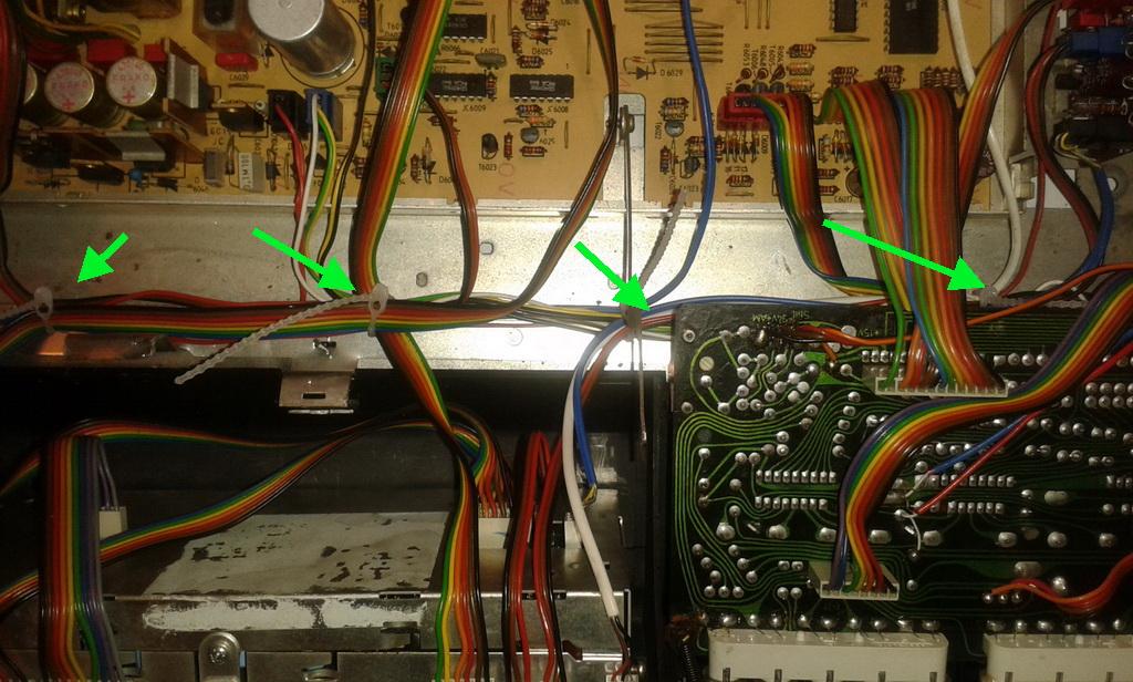 Grundig RPC 650 TP cablaggio