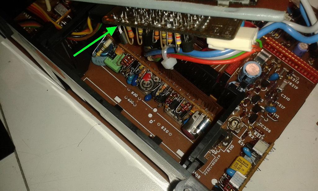 Grundig RPC 650 TP CN 830 TP