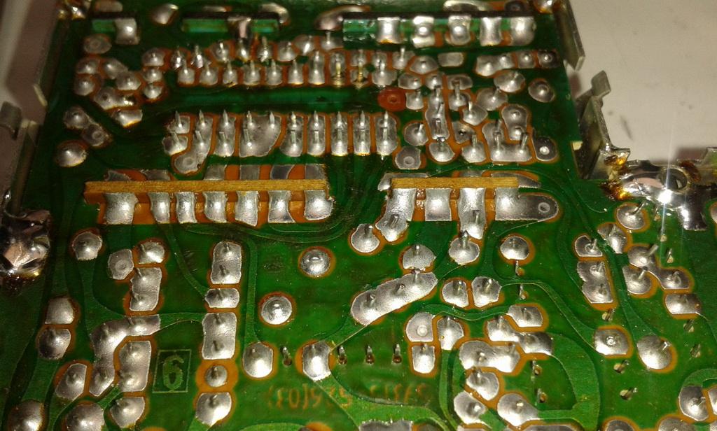 Grundig RPC 650 TP cablaggio piastra display e comandi