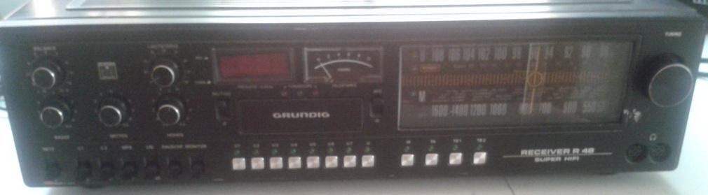 Grundig Receiver R48 arrivo