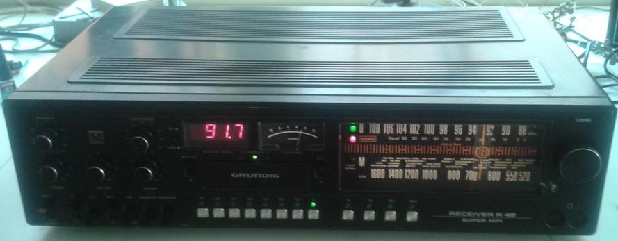 Grundig R48 test