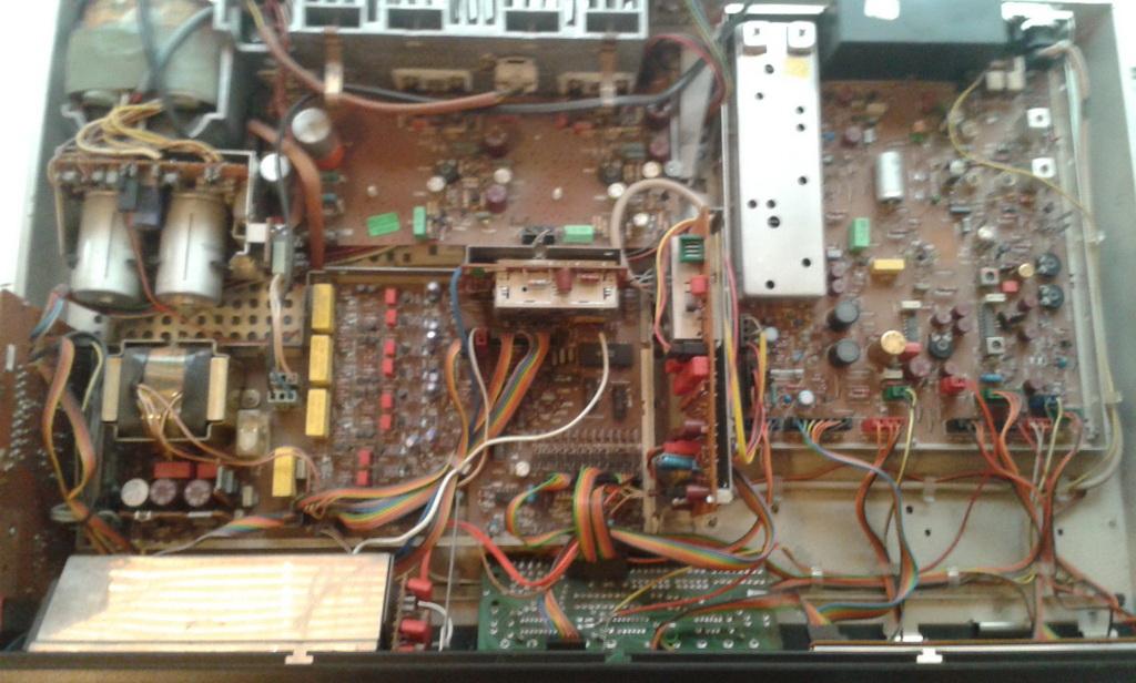 Grundig Studio RPC 600 TP panoramica interna