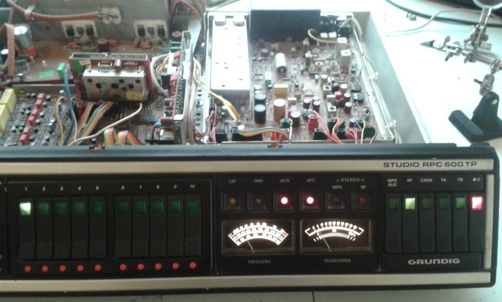 Grundig Studio RPC 600 TP riparazione