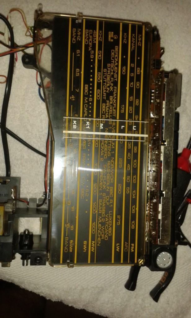 Grundig C6000 panoramica e apertura