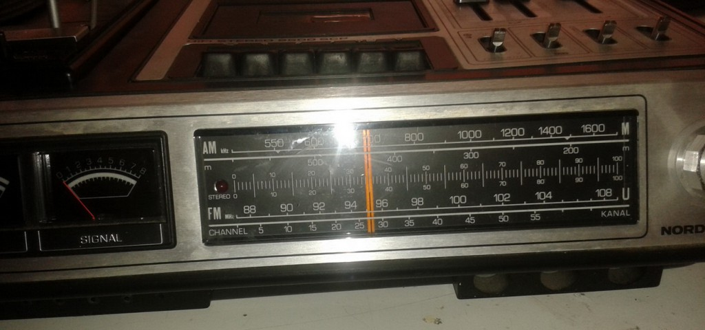 Nordmende Stereo 9500 arrivo