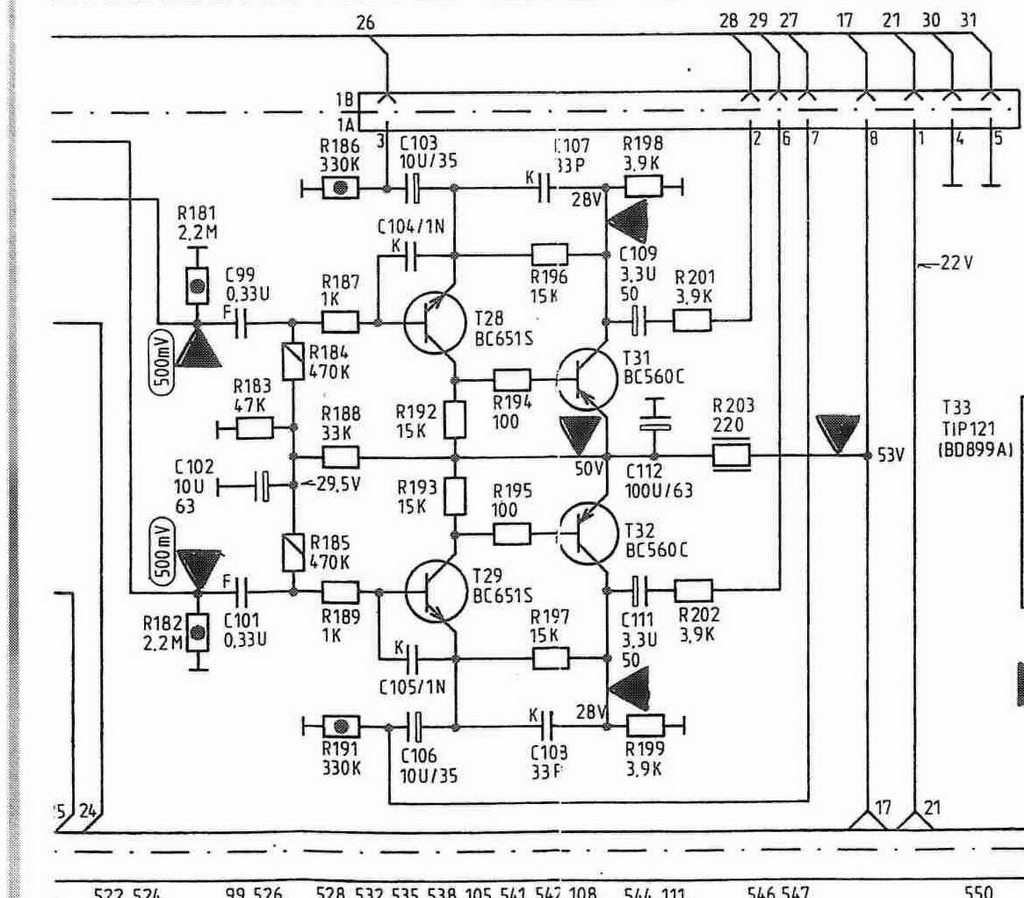 Grundig XV 6000 schema