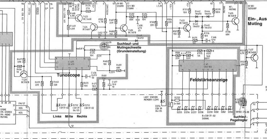 Grundig T 7500 schema