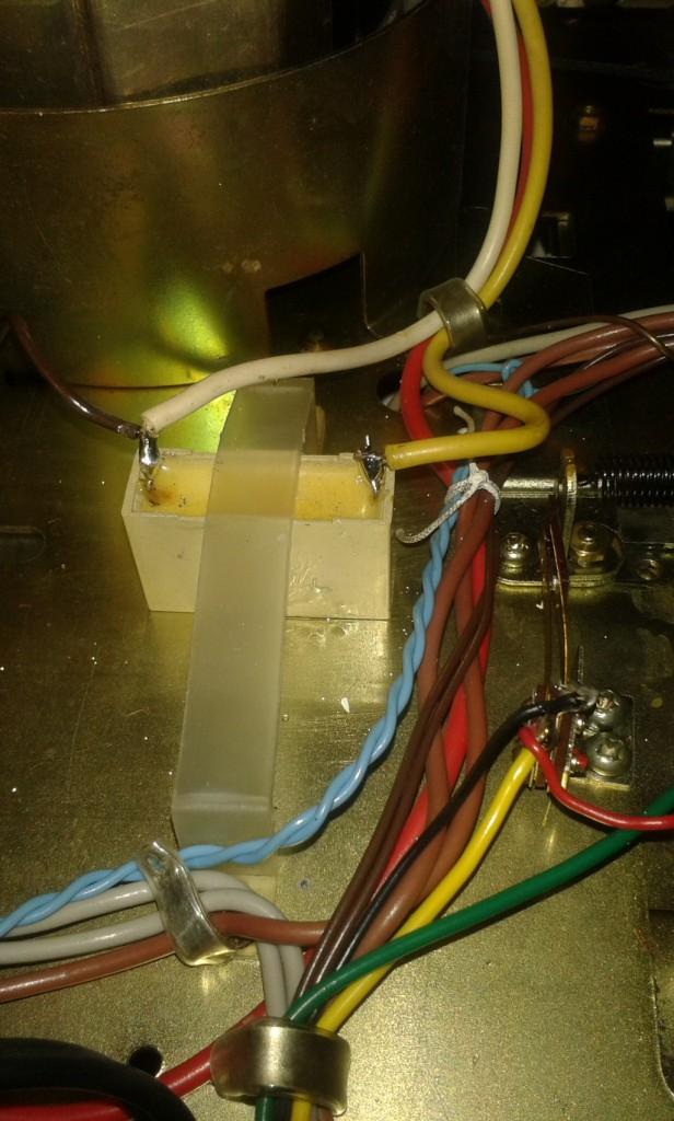 condensatore motore.