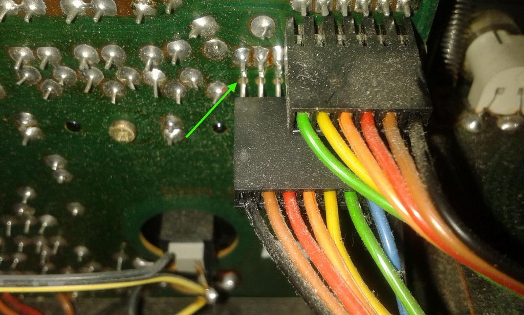 connettori scheda comandi.